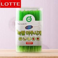 300p 롯데 편한생활 녹말 이쑤시개(6.5cm)
