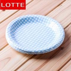 10p 롯데 칼라종이접시(블루) (20cm)