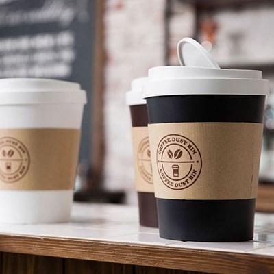 커피컵 디자인 휴지통 / 다용도 인테리어 미니 수납함