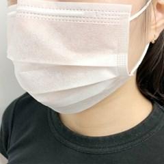 얇은 마스크 2중필터 50매 방수원단 일회용 여름용