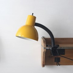 옐로우 레트로 크랩 램프(집게등)