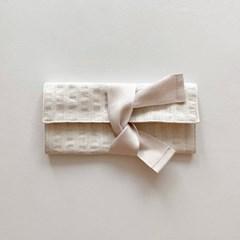 봉봉 펜슬케이스(stripe white)