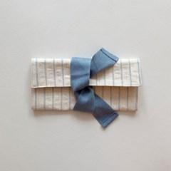 봉봉 펜슬케이스(stripe blue)