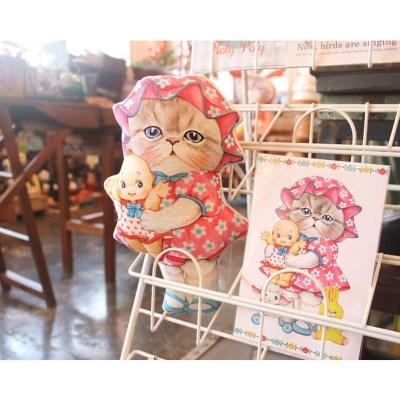 페르시안 고양이 루미와 빈티지 인형들 (DIY패브릭 45X65cm)