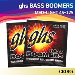 GHS FLEA 베이스 기타줄 5현 BOOMERS ML3045F 45-125