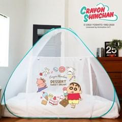레토 짱구 아기 대형 침대 원터치 모기장 텐트 CSM-N01