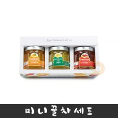 제주담움 미니꿀차 3종 선물세트 (각50g)