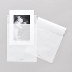 반투명 종이봉투 M 20매 - 4x6 종이액자용