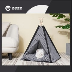 [제제코리아]인디안 텐트 하우스/고양이하우스/고양이집