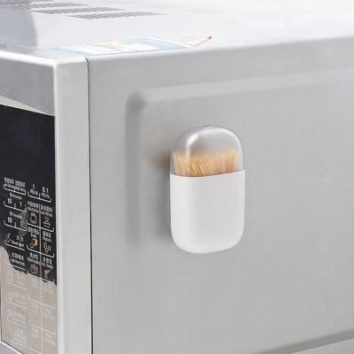 냉장고 자석 부착식 이쑤시개통(화이트)