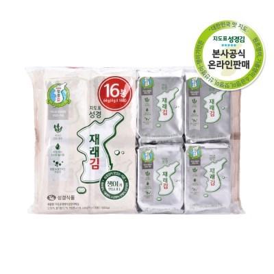 [본사운영] 지도표 성경김 재래식탁김 4gx32봉