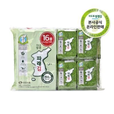 [본사운영] 지도표 성경김 파래식탁김 4gx32봉