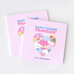 TRF x NEONMOON STORYBOOK - HAPPY KAWAII TRAVELER