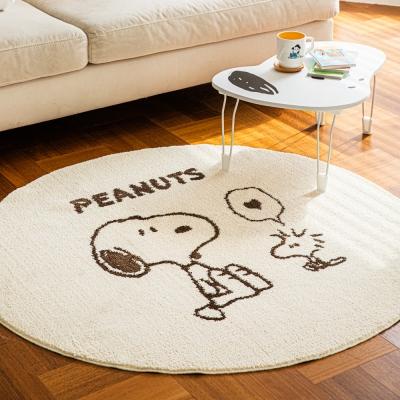 [Peanuts] 스누피 원형러그 1200