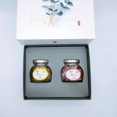 꽃차 소 2종 선물세트 (메리골드 소 8g+아카시아 소 6g)