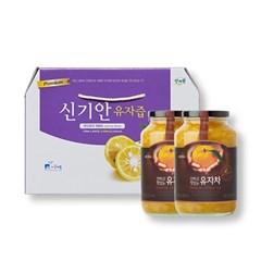 [남도장터]유자차 선물세트(유자차2kg+유자즙60포)