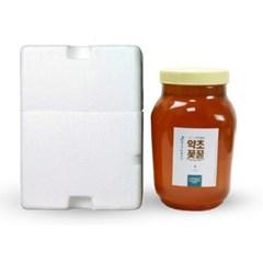 [남도장터]자연밥상 지리산 약초꽃꿀 2.4kg