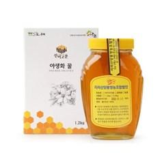 [남도장터]지리산양봉 잡화꿀 1.2kg