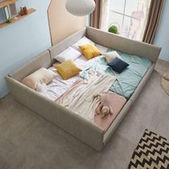 엘리스 패밀리 패브릭가죽 침대세트 B형2.8m (독립스프링) AD18R