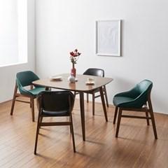 가구데코 모니카 테이블+의자4개 식탁세트 NE0182
