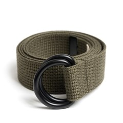 BK D-RING BELT (khaki)