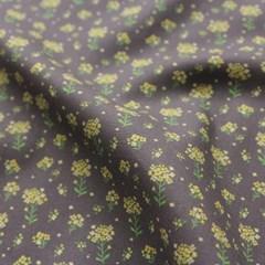[Fabric] 유채꽃 - 봄햇살을 닮은 노란 유채꽃 코튼