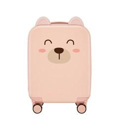 [믹시] 삐삐 어린이 하드캐리어 16인치(기내용)_핑크샌_(1718603)