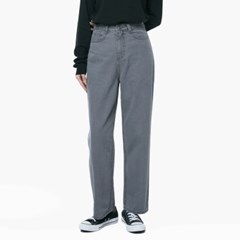 LW068 UNCOMMON WIDE GRAY JEANS