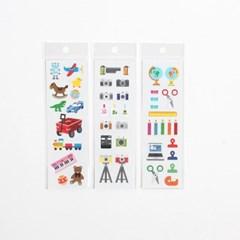스티커마켓 무광스티커 (문구,장난감,카메라)