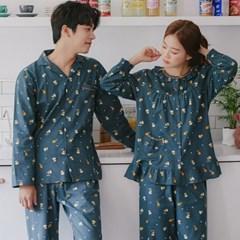 [SALE] 알콩단잠 커플잠옷 드래프트비어 순면 긴팔 파자마 홈웨어
