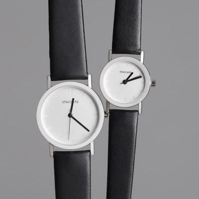 심플와치 가죽 113 여성 남성 커플 손목시계 watch 5 color