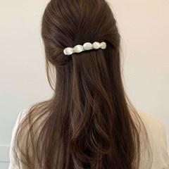 [2 color] 자개 동글동글 반묶음 올림머리 자동 헤어핀