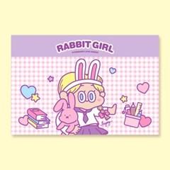 [LEEGONG] 엽서 -  RABBITGIRL2 VER.