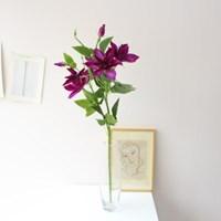대형 클레마티스 조화꽃 인테리어 조화장식(4color)