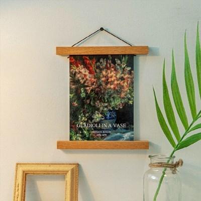 세계의 명화 르누아르 - 꽃병에 담긴 글라디올러스