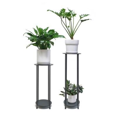 Bauhaus/double 철재 화분스탠드 short or long(식물별도)