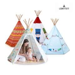 루카 유아 어린이 인디언 텐트 14종 모음 (LED+루카매트_(1103417)