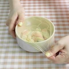 컬러 실리콘 멀티랩 3size / 그릇덮개 밀봉뚜껑