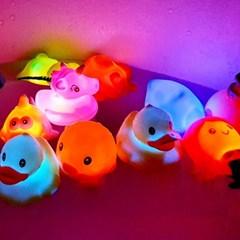 레츠토이 LED 목욕놀이 3개세트 4종 아기 유아 물놀이 목욕장난감