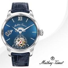 MATHEY-TISSOT 메티티솟 AM1886ABU 남성시계 가죽밴드 손목시계