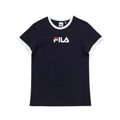 휠라 Women linear logo 반팔티 FLFLAS1C52_(1911088)
