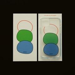 [Phone case] 3 Pebbles