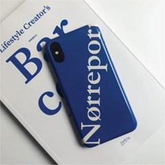 유기견후원 Norreport Classic Blue Hard Case