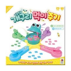 [코리아보드게임즈] 빙글빙글 개구리 먹이주기