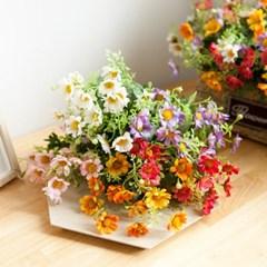 파인데이지부쉬 35cm 조화 꽃 인테리어 장식 FAIAFT_(1864716)