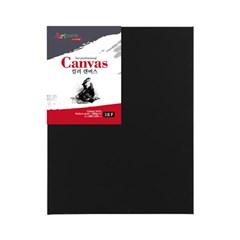 [아트메이트] 블랙 캔버스 F형 3호28x22cm