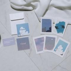 Mini Postcard_Cloud Set 미니엽서_구름세트