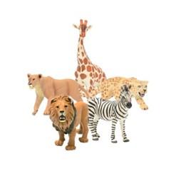 [사파리엘티디] 아프리카 동물피규어 5종세트(270629'290229&s