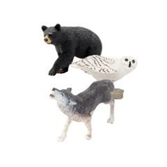 [사파리엘티디] 숲속사냥꾼 동물피규어 3종세트(273529'273829