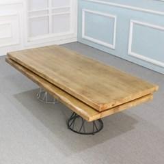 우드슬랩 DIY상판목재 원목 테이블 인공물결형_(246855)